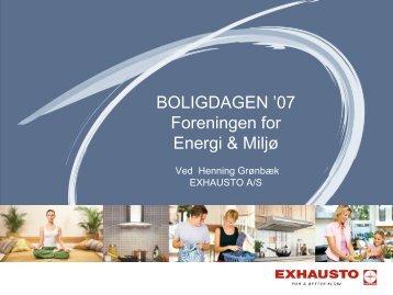 BOLIGDAGEN - Energiforum Danmark