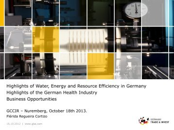 Germany Trade & Invest - TUM-Tech GmbH