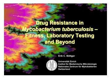 Drug Resistance in - Molecular Tuberculosis
