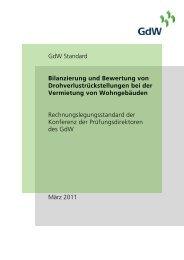 Bilanzierung und Bewertung von Drohverlustrückstellungen bei der ...