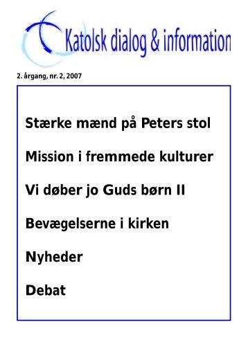 2/2007 - Katolsk dialog & information