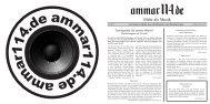 Album Cover + Booklet (PDF) - Ammar114