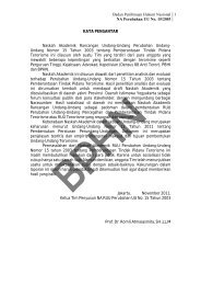 Badan Pembinaan Hukum Nasional NA Perubahan UU No. 15/2003 ...