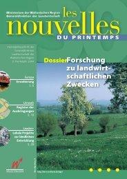 Forschung zu landwirt - direction générale de l'agriculture