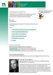 1. Nufarm Deutschland präsentiert zwei neue Webseiten 2. Nufarm ...