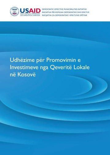Udhëzime për Promovimin e Investimeve nga ... - Demi USAID