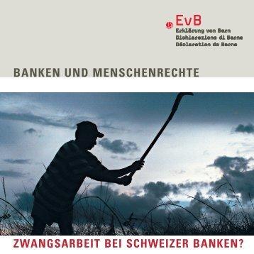 Flyer zum Download - Erklärung von Bern