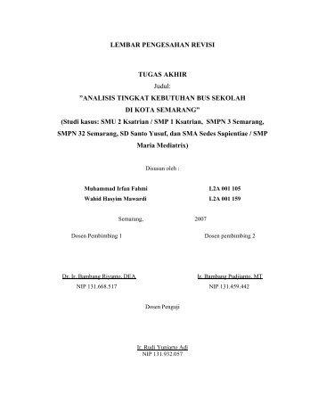 Panduan Tugas Akhir Elektro Revisi 03 Fakultas Teknik