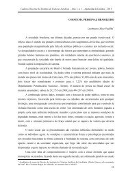 23 O SISTEMA PRISIONAL BRASILEIRO Lucimauro Silva Padilha A ...