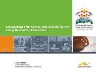 Integrating FME Server into ArcGIS Server using Geocortex Essentials