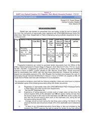 NHPC Ltd., Parbati Complex, P.O. Nagwain, Distt.-Mandi, Himachal ...
