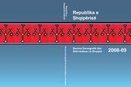 REPUBLIKA E SHQIPËRISË Studimi Demografik dhe ... - INSTAT