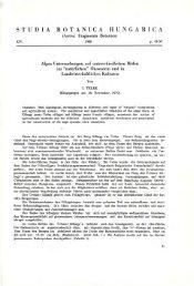 Studia Botanica Hungarica 14. 1980 (Budapest, 1980)