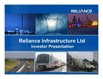 1 - Reliance Infrastructure