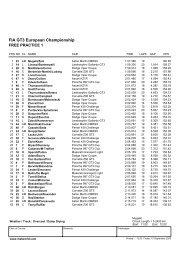 FIA GT3 European Championship - Scuderiaitalia.it