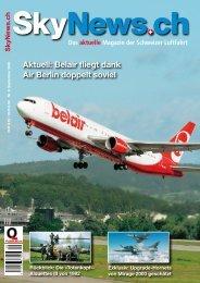Aktuell: Belair fliegt dank Air Berlin doppelt soviel - SkyNews.ch