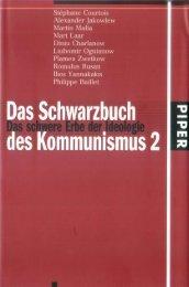 Schwarzbuch des Kommunismus BD II - new Sturmer