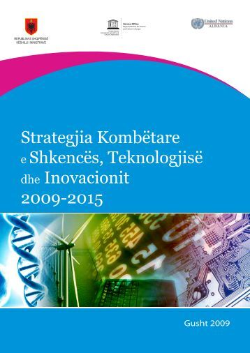 Strategjia Kombëtare e Shkencës, Teknologjisë dhe Inovacionit ...
