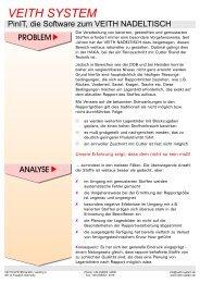 Infoblatt D-E.cdr:CorelDRAW - Veith System Gmbh