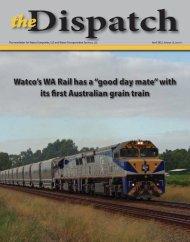 Dispatch - Watco Companies, LLC