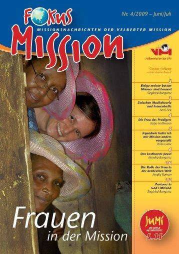Nr. 4/2009 - bei der Velberter Mission