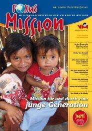 Mission für und durch eine junge Generation - bei der Velberter ...