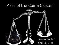Mass of the Coma Cluster