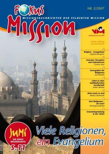 Viele Religionen, ein Evangelium - bei der Velberter Mission