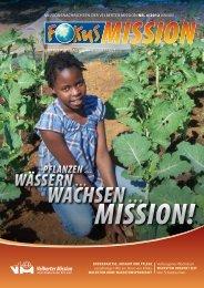 pflanzen … wässern … wachsen - bei der Velberter Mission