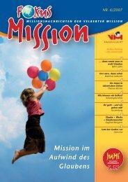 Mission im Aufwind des Glaubens - bei der Velberter Mission