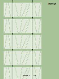 Works 3 Tile - Fabbian
