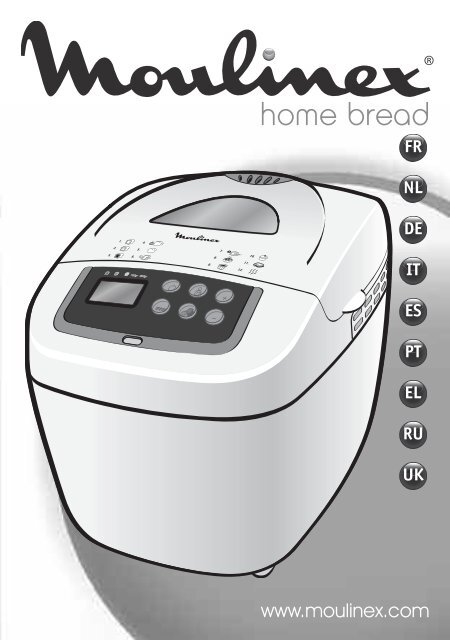 инструкция по эксплуатации хлебопечка ру