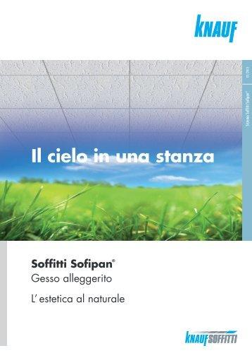 Brochure Soffitti Sofipan - Knauf