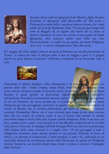 S. Rosalia - Parrocchia Maria SS. Assunta