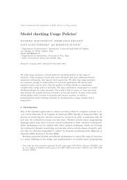 Model checking Usage Policies - I blog di Unica