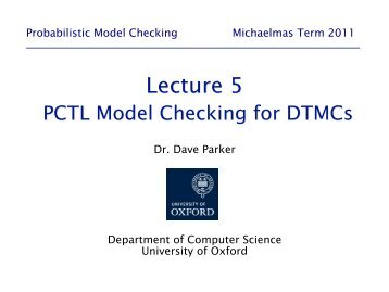 05-dtmc model checking - Prism