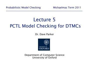 05-dtmc model checking - Prism