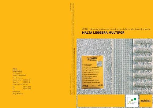 Malta Leggera Multipor Ytong