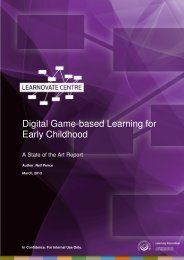 Digital Game-based Learning for Early Childhood