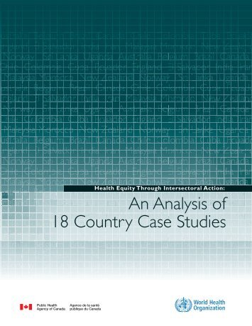An Analysis of 18 Country Case Studies
