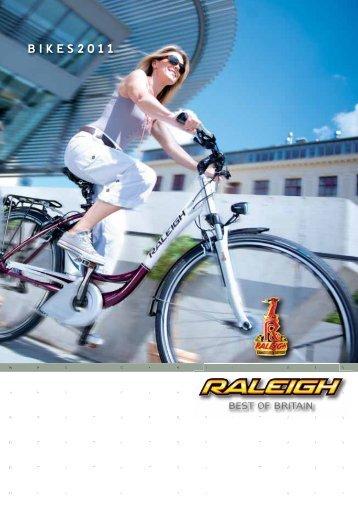 Raleigh Katalog 2011 - E-Bikes und Pedelecs
