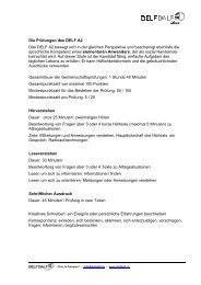 B1 and B2 Junior Diplomas - Delf-Dalf