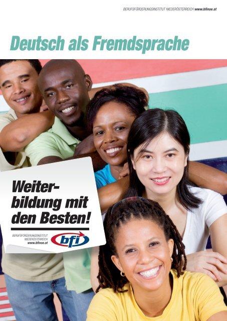 Deutsch als Fremdsprache - BFI NÖ