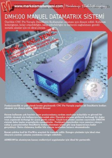 dmh100 manuel datamatrıx s stem - Markalama