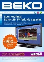 Spor keyfinizi Beko LED TV farkıyla yaşayın.