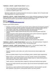 """""""IdeaNostra: LoKarGo - Lojistik Yönetim Sistemi"""