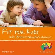 Fit for Kids Herbst 2012 - Kinder in Wien