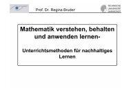 Mathematik verstehen, behalten und anwenden lernen - math-learning