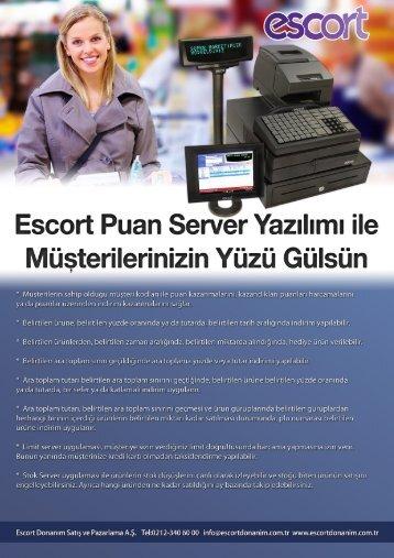 Escort Puan Se Yazılımı ile - Escort Donanım-Anasayfa