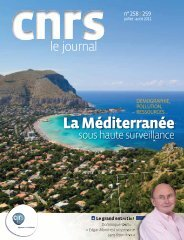 CNRS Le Journal Juillet/Août 2011 - Culture science en PACA